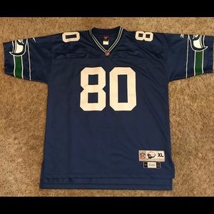 Throwback Football Jersey. Seattle Seahawk #80.